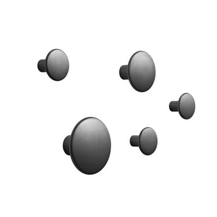 Muuto The Dots Metal Sæt - Sort Aluminium