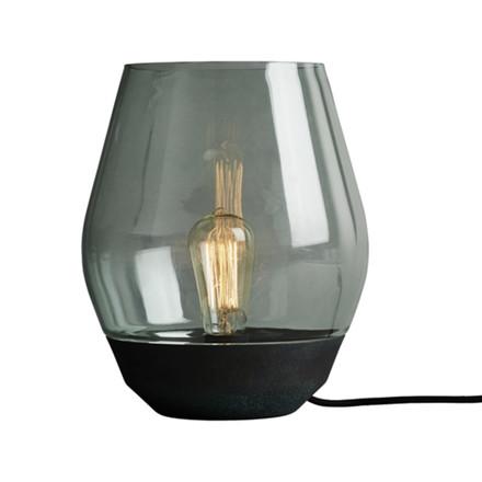 New Works Bordlampe Bowl Verdigrised Kopper-Grøn