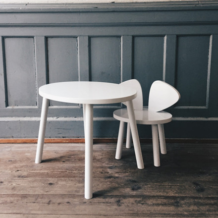 NoFred Mouse Table Hvid