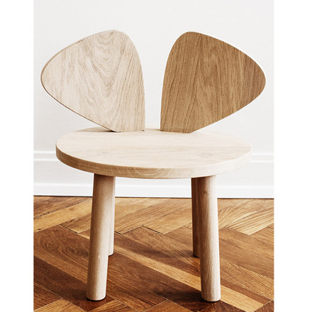 NoFred Børnestol Mouse Chair Eg