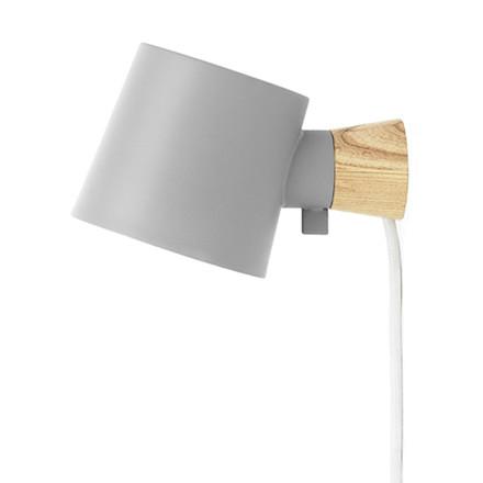 Normann Copenhagen Rise Væglampe Grå