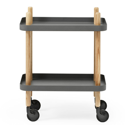 Normann Copenhagen Block Table Rullebord