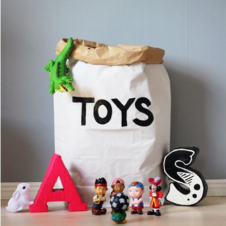 Tellkiddo Papirspose Toys