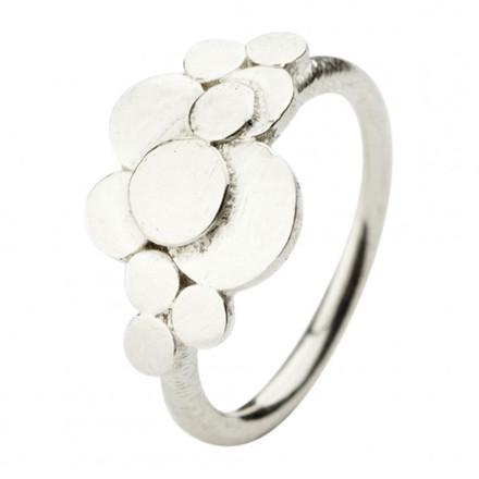 Pernille Corydon Multi Coin Ring Sølv