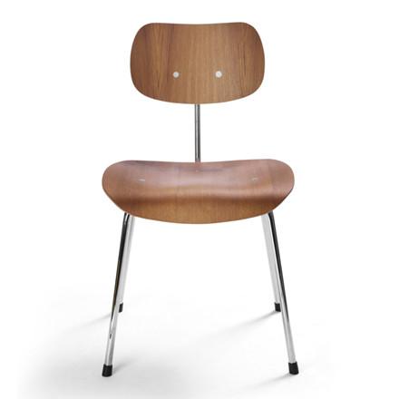 Please Wait To Be Seated SE68 Stol Teak-Krom