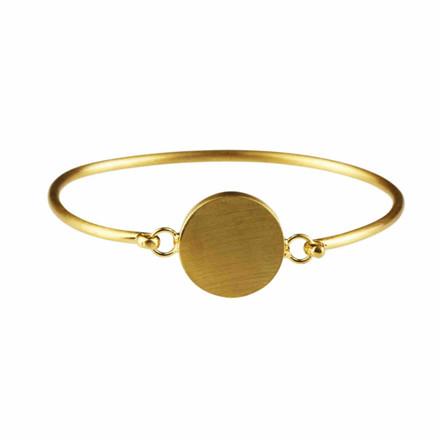 Plissé Copenhagen Armbånd Pendant Guld