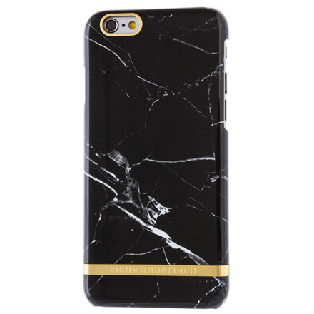 Richmond & Finch Iphone cover Black marble 6/6S