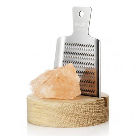 Rivsalt Salt Sæt med Rivejern og Salt Lille