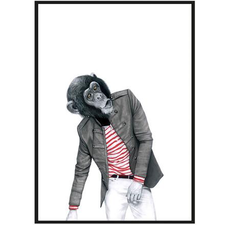 Sanna Wieslander Art Monkey Business Illustration