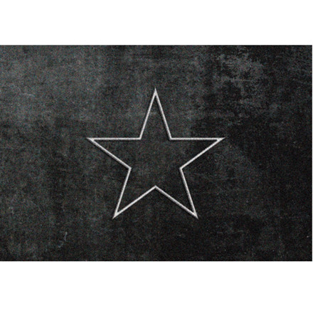 Skriver Collection Dørmåtte Trendmat Deluxe Star