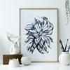 Sofie Børsting Plakat Swirling Leaves 50x70