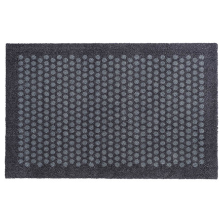Tica Copenhagen Smudsmåtte 60 x 90 cm. Dot design grå