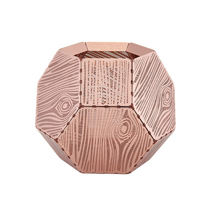 Tom Dixon Etch Wood Lysestage Kobber
