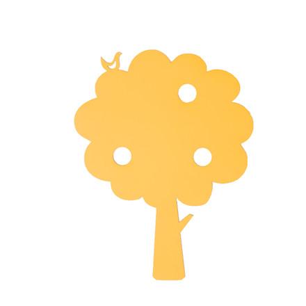 Ferm Living Træ lampe gul