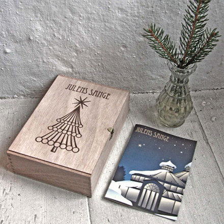 Vissevasse Julens sange i æske