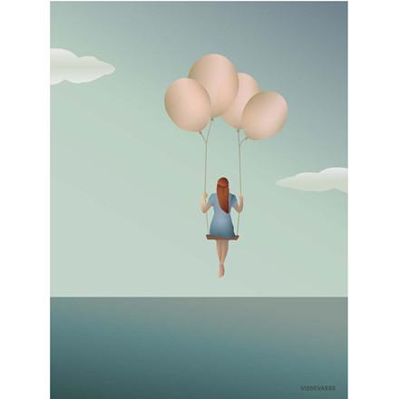 Vissevasse plakat Luftballon - Ballon Dream