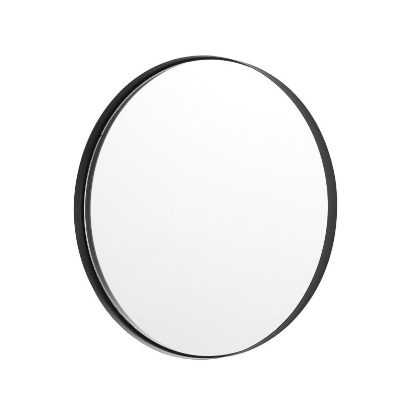 Mojoo Moonshine Spejl Sort Ø50