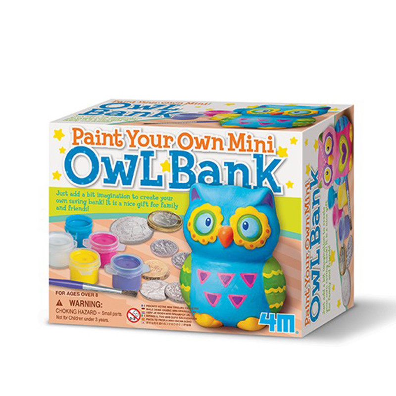 4M Bank Painting-Paint Your Own Piggy Bank