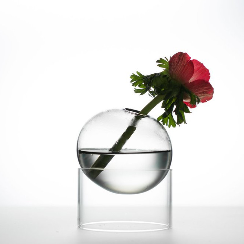 About Form And Function Bordboble Vase Smoke 5 cm