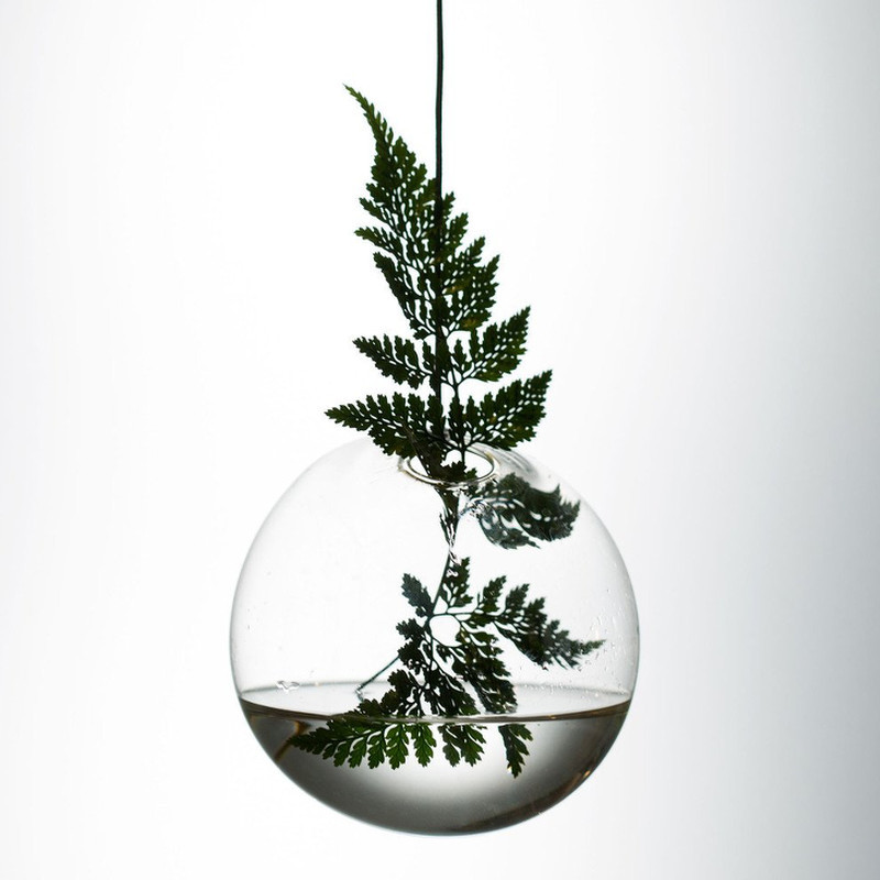 About Form And Function Hænge Boble Vase Transperant 11 cm