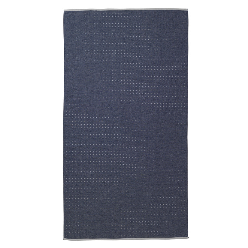Ferm Living Strandhåndklæde Sento, Blå