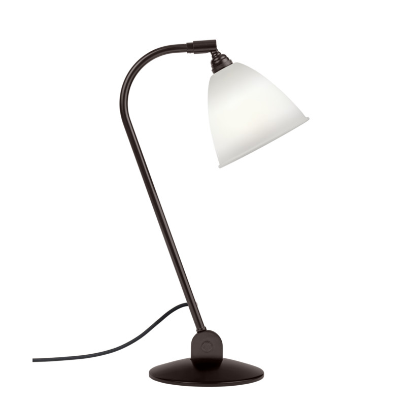 Bestlite BL2 Bordlampe Black Brass Bone China