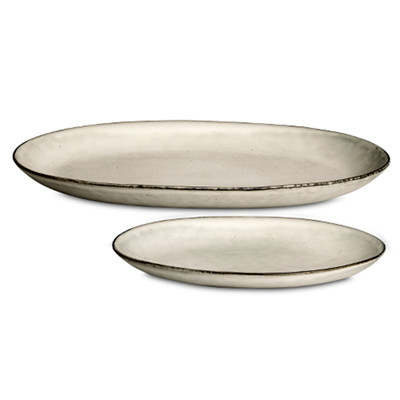 broste copenhagen fad oval nordic sand. Black Bedroom Furniture Sets. Home Design Ideas