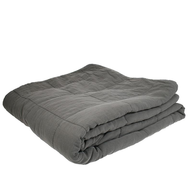 Cozy Room Sengetæppe Mørk grå