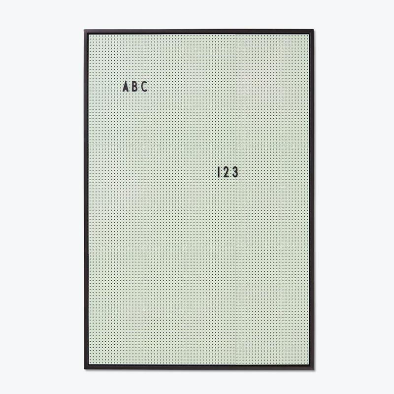 Design Letters Message Board opslagstavle Grøn A2