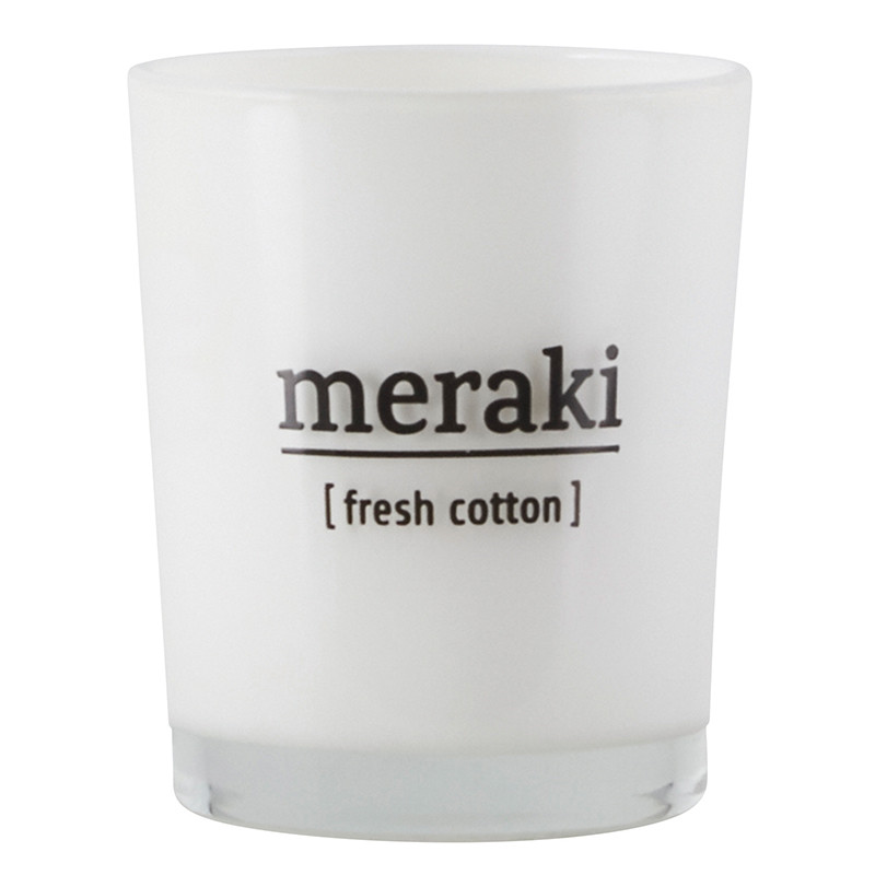Meraki Duftlys Fresh Cotton Small