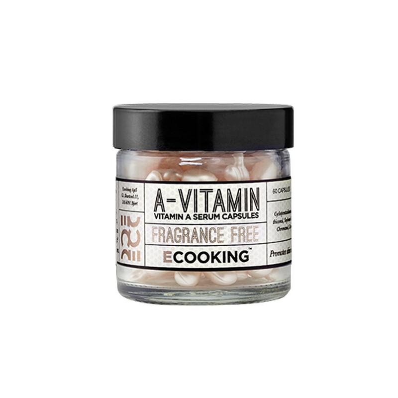 Ecooking Serum A-Vitamin Kapsler 60 stk