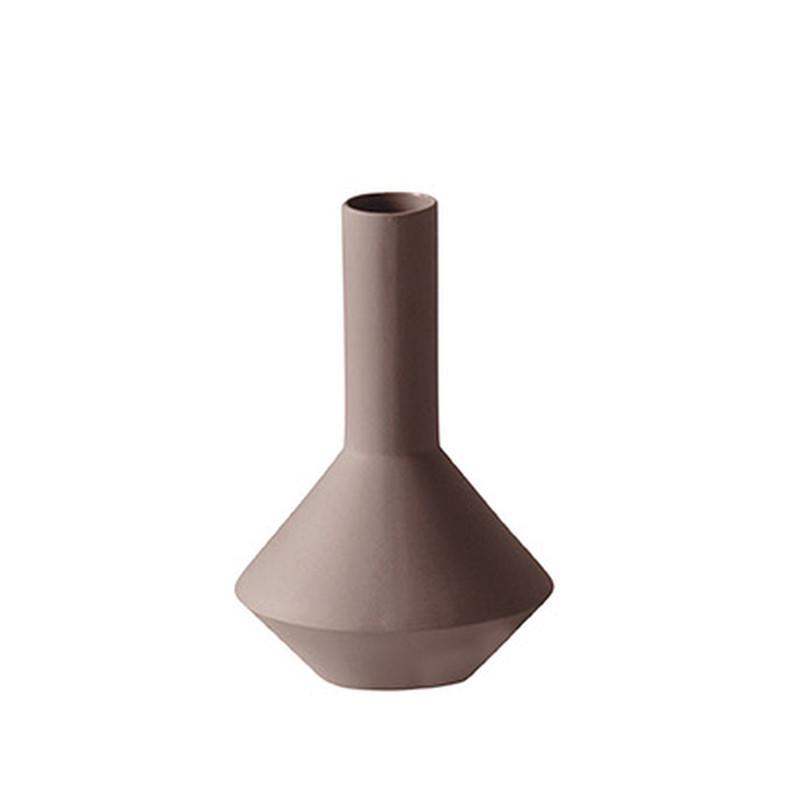 Ferm Living Sculpt Pod Vase Rust