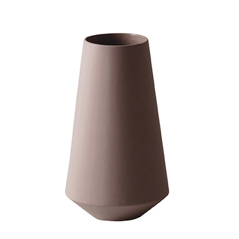 Ferm Living Sculpt Well Vase Rust