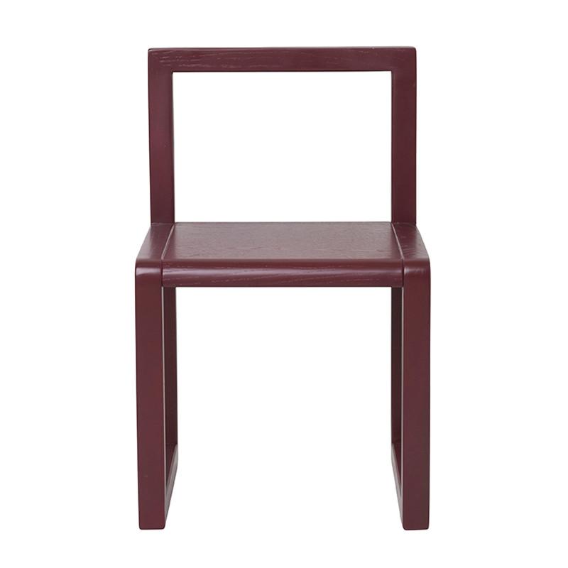Ferm Living Little Architect Chair - Bordeaux