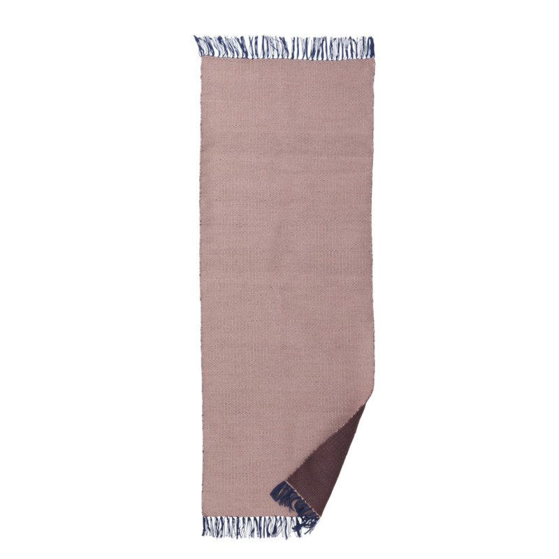 Ferm Living Nomad Tæppe Rose Large