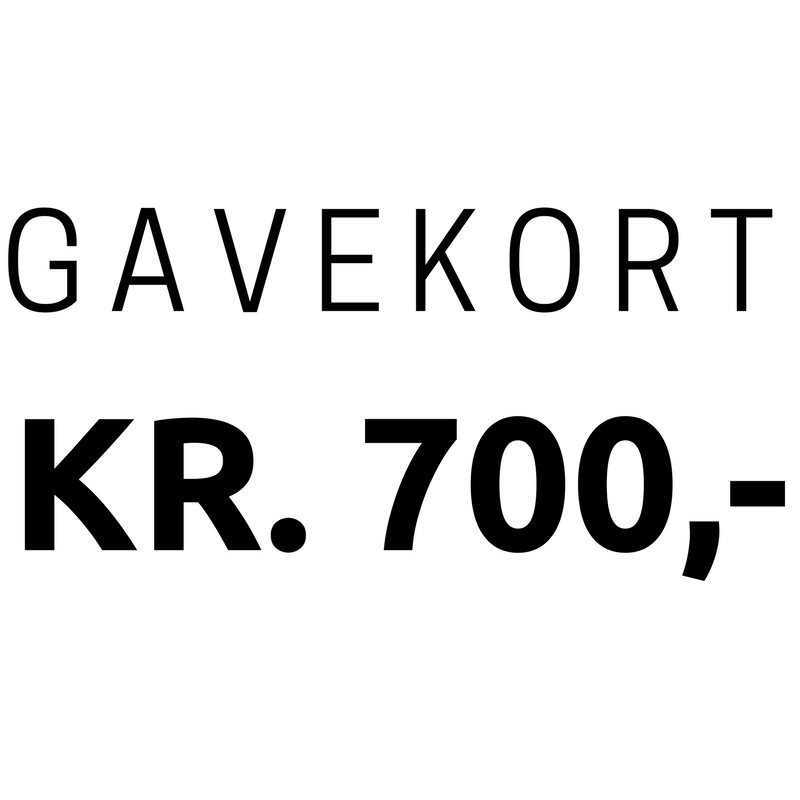 Gavekort 700,-
