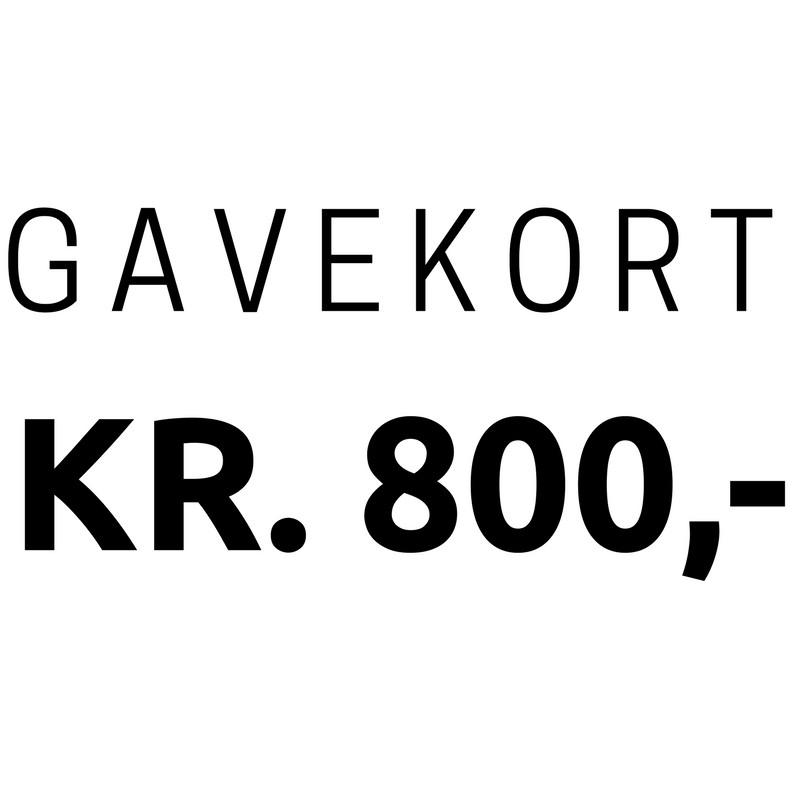 Gavekort 800,-