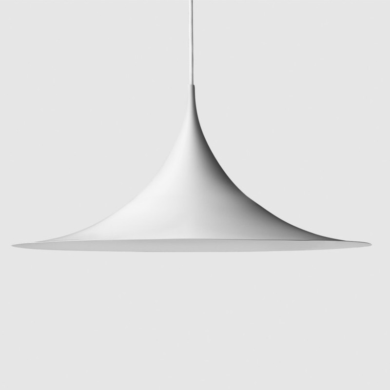 Gubi Semi Pendel Hvid Ø60 cm.