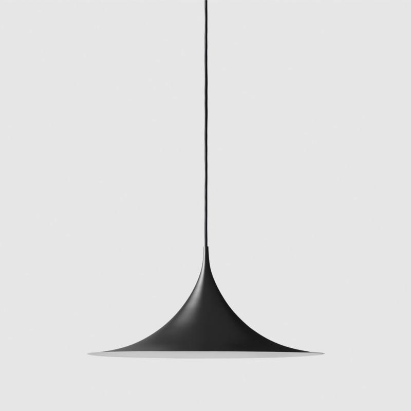 Gubi Semi Pendel Sort Ø30 cm.