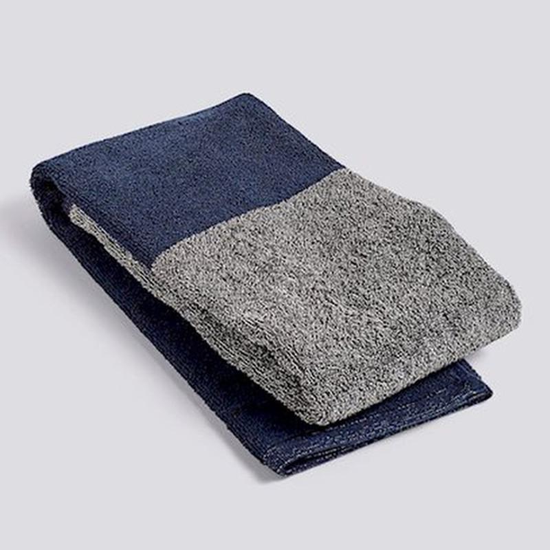 HAY Compose Håndklæde Navy Blå