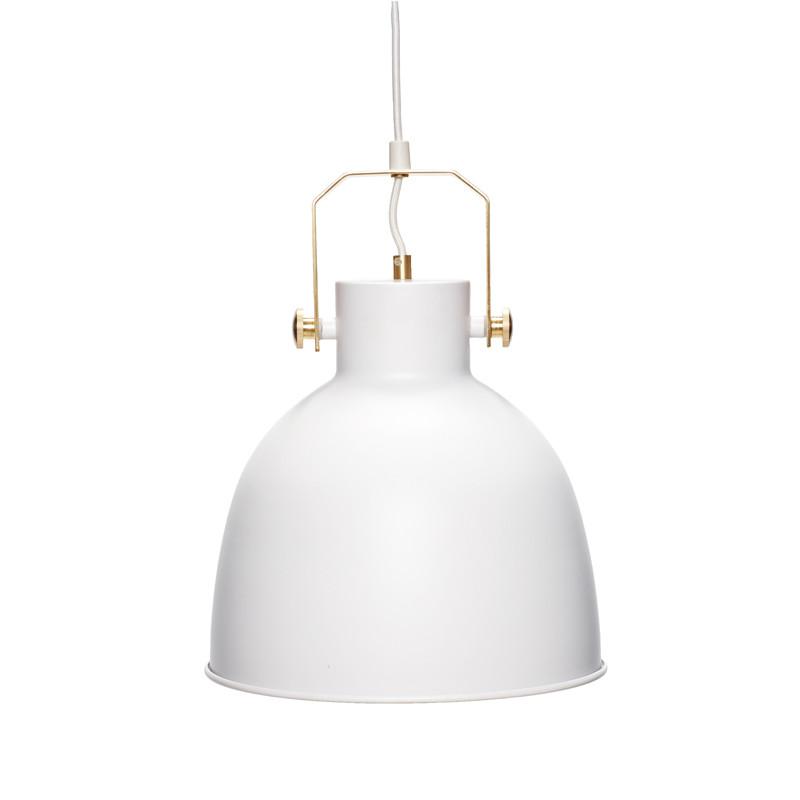 Hübsch Lampe hvid/guld