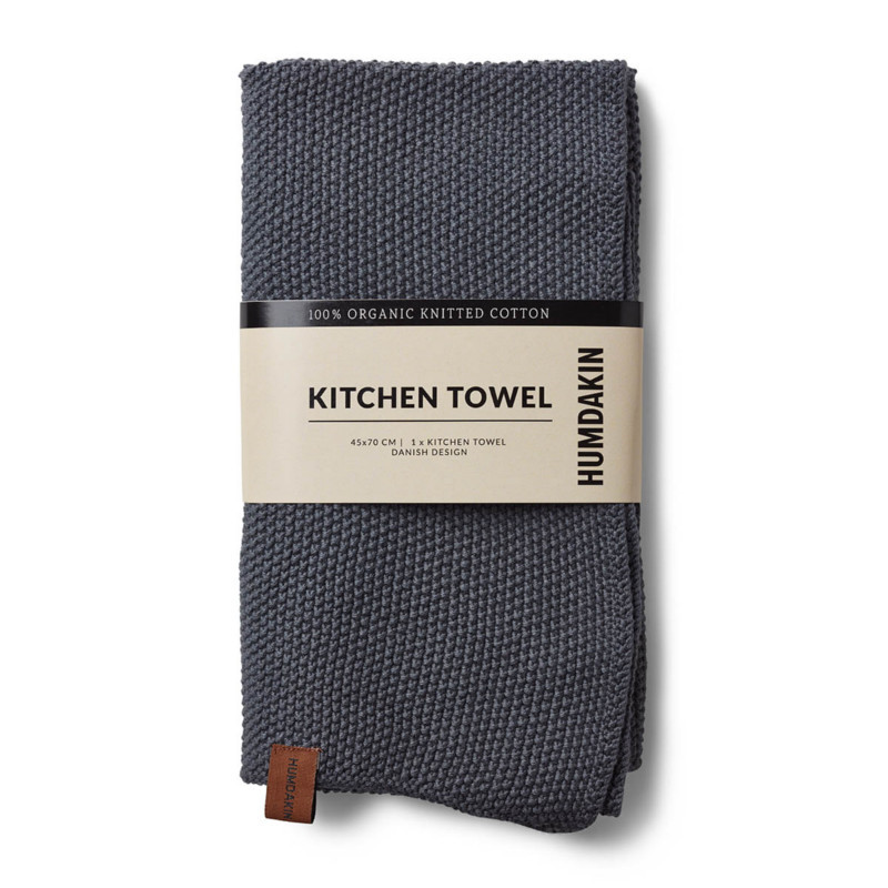 Humdakin Køkkenhåndklæde Dark Ash