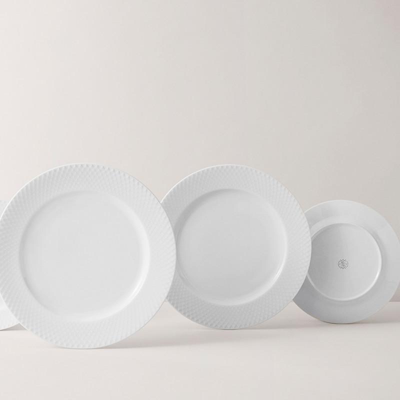 Lyngby Porcelæn Tallerkner Rhombe