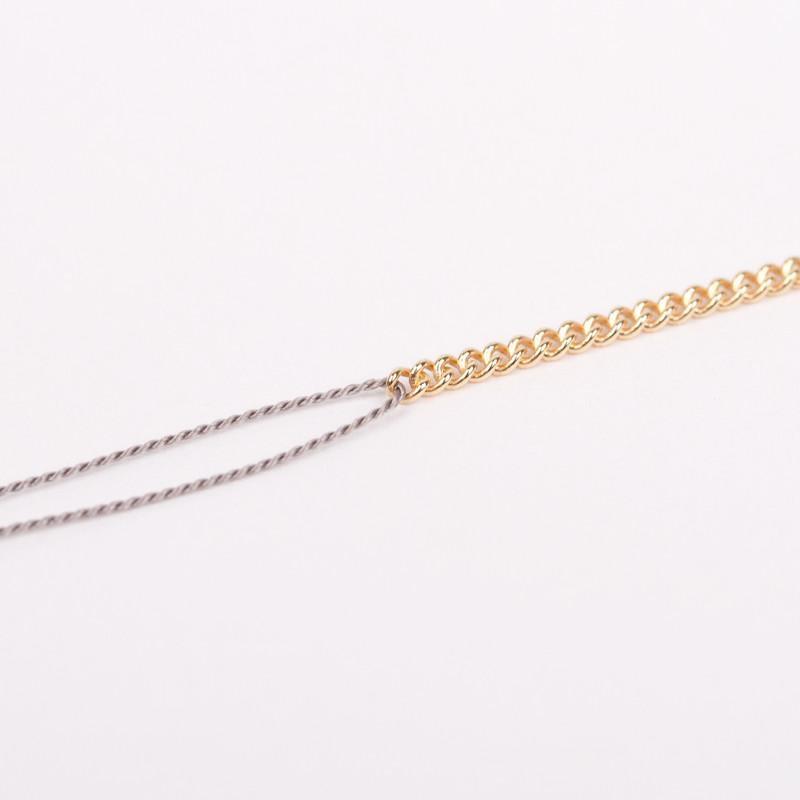 Jukserei Good Luck Bracelet/Chain Grå