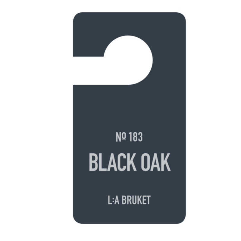 La Brucket Fragrance Tag Black Oak