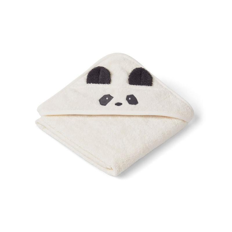 Liewood Håndklæde Panda Creme Baby