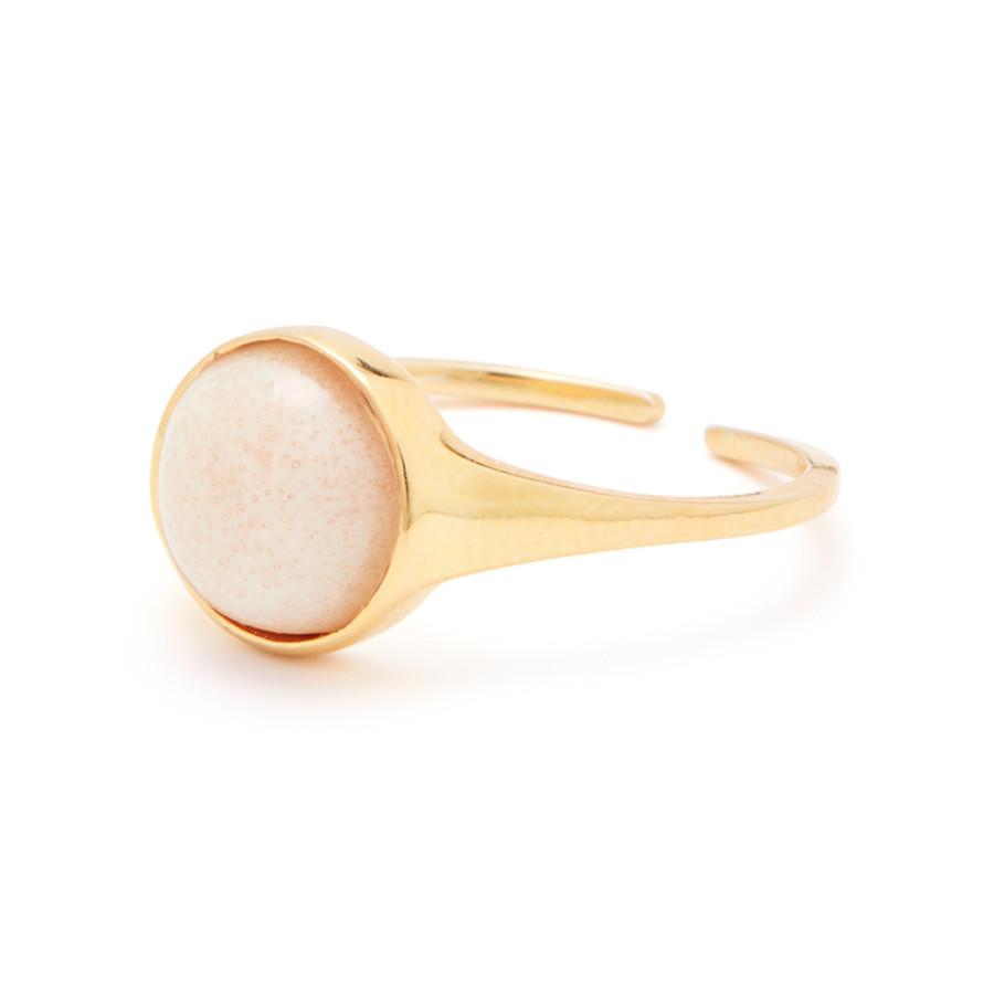 Louise Kragh Ring Fall Guld Cashmere