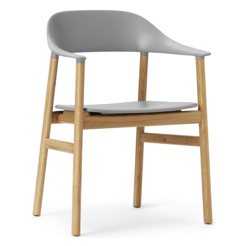 Normann Copenhagen Herit Spisebordsstol Med Armlæn Eg