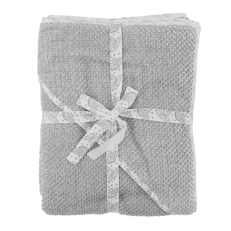 Meraki Mini Baby Håndklæde Grå