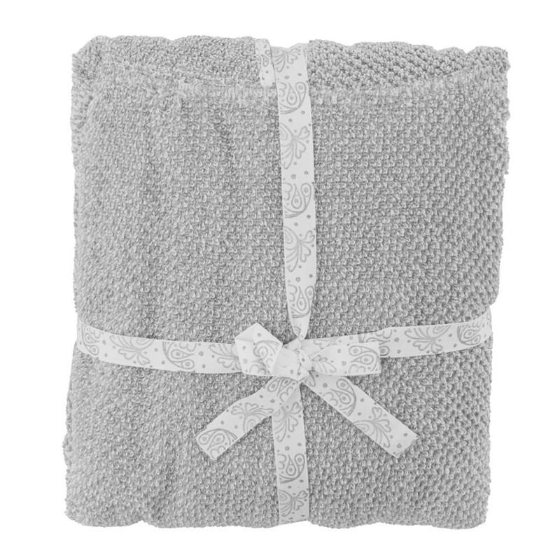Meraki Mini Poncho Håndklæde Grå